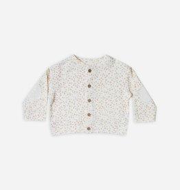 Baby cardigan, pebble print