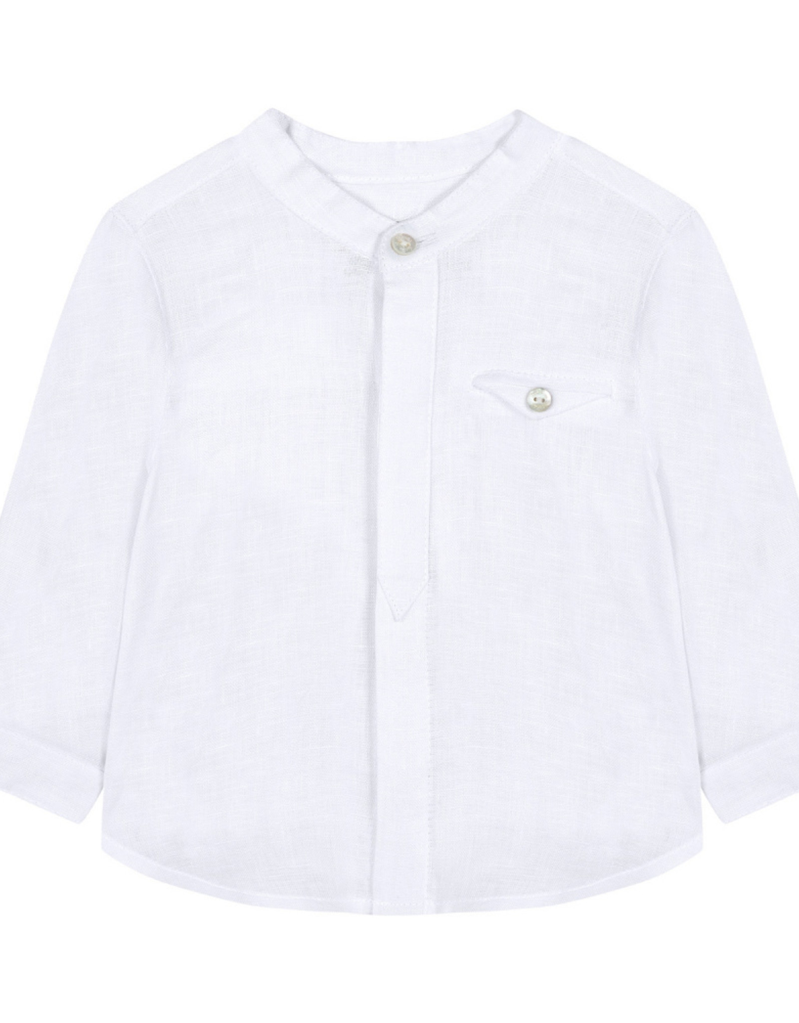 Tartine et Chocolat Linen baby shirt
