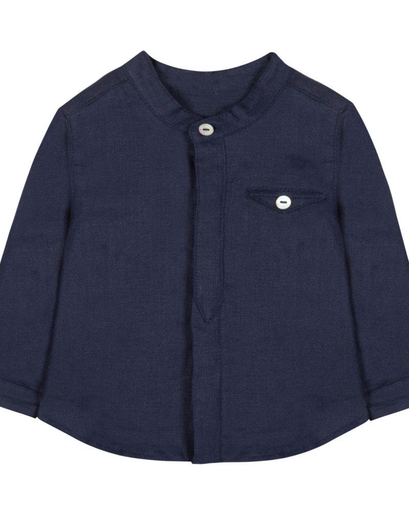 Linen baby shirt