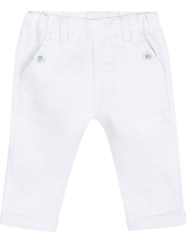 Linen baby pants