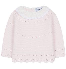 Chandail à tricot à col