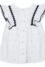 Tartine et Chocolat Dress, dots print