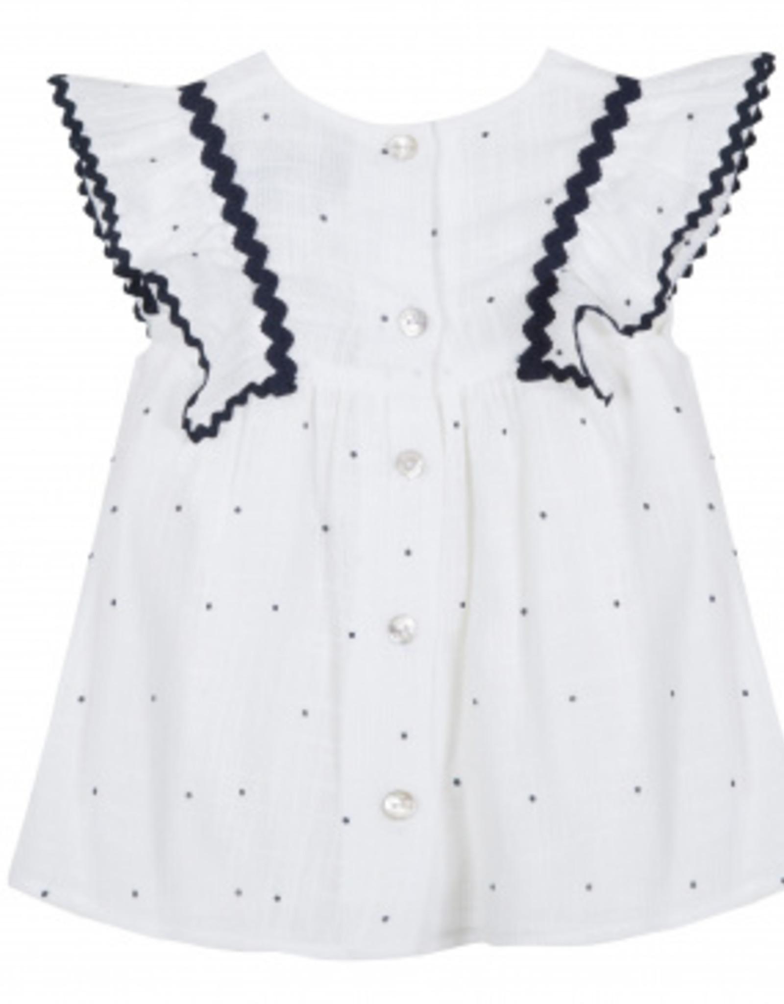 Dress, dots print