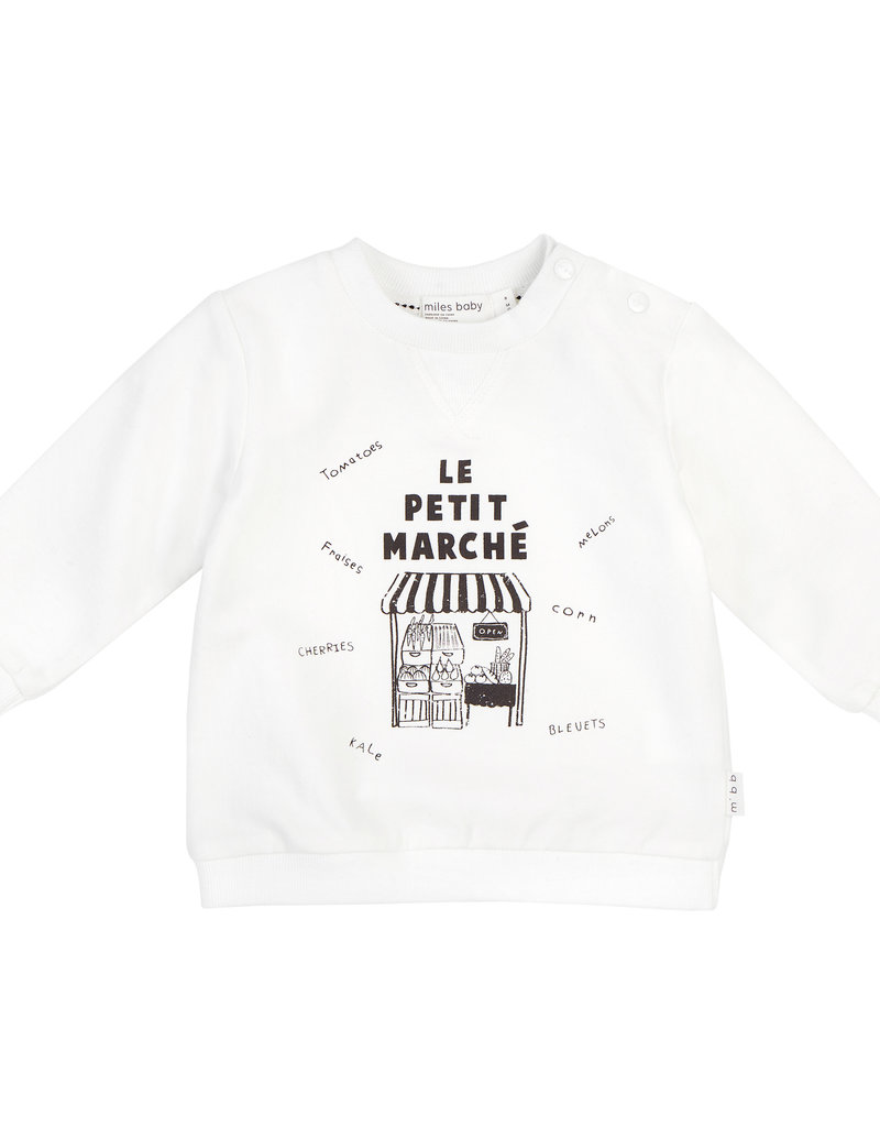 """""""Le Petit Marché"""" sweater"""