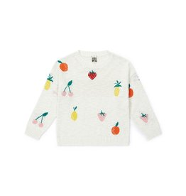 Sweater, fruits print