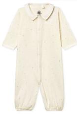 Petit Bateau Pajamas-sleeper, stars print
