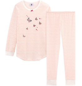 Pajamas, butterflies print