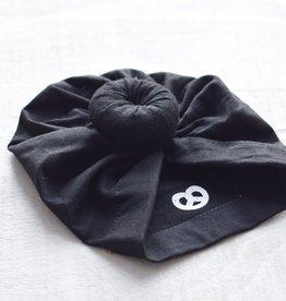 Mini Bretzel Turban en coton pour bébé