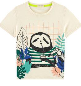 T-shirt, sloth print