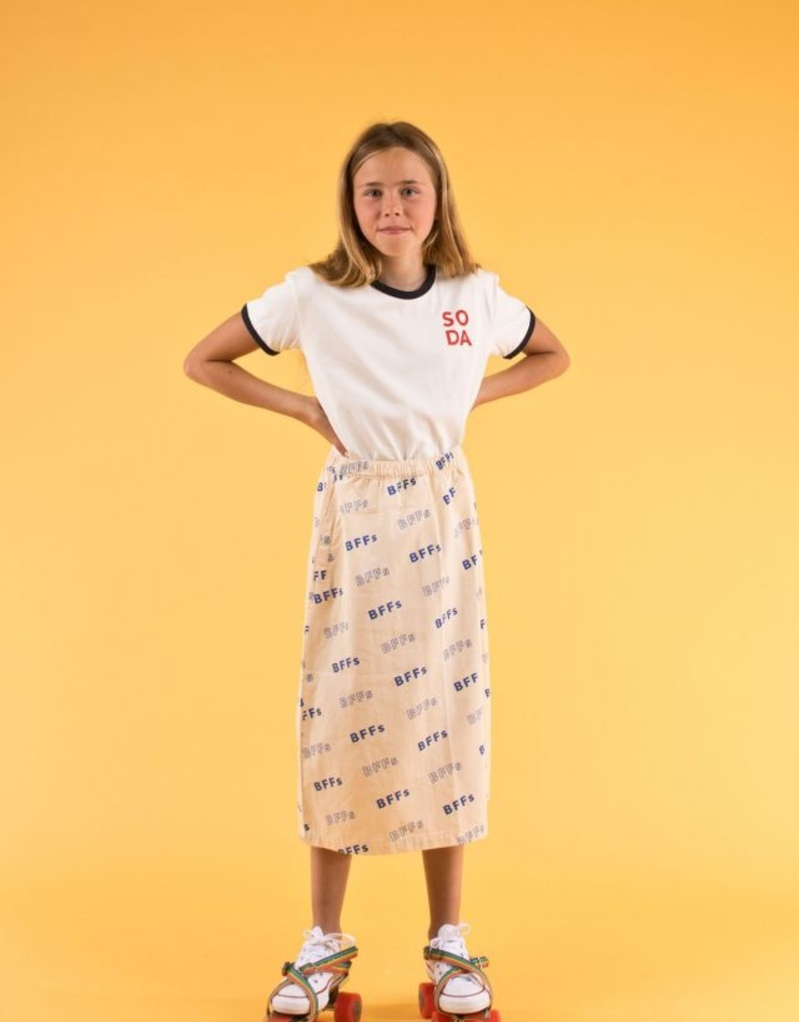 Tinycottons BFFS skirt