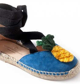 Maison Mangostan Mini Macedonia pineapple sandals