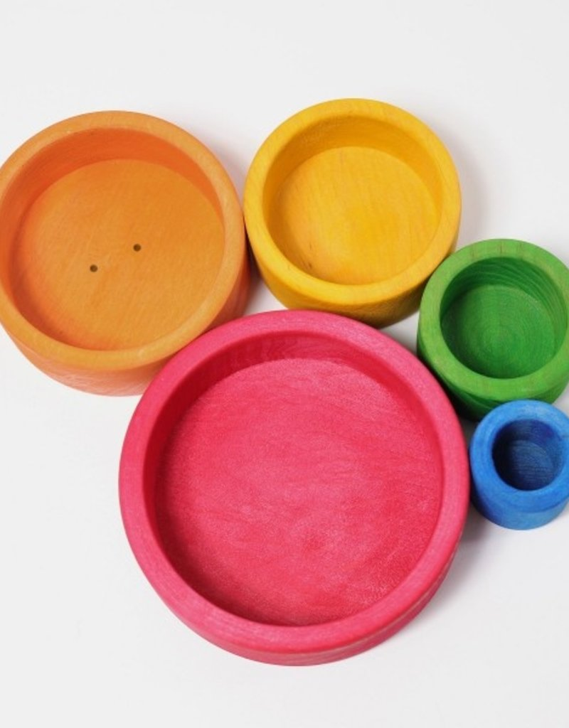 Red Set of Bowls