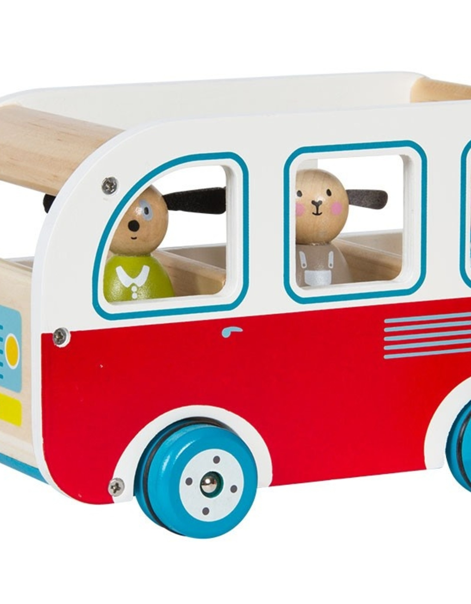 Moulin Roty Grande Famille wooden Bus