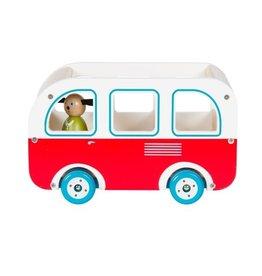 Autobus en bois La Grande Famille