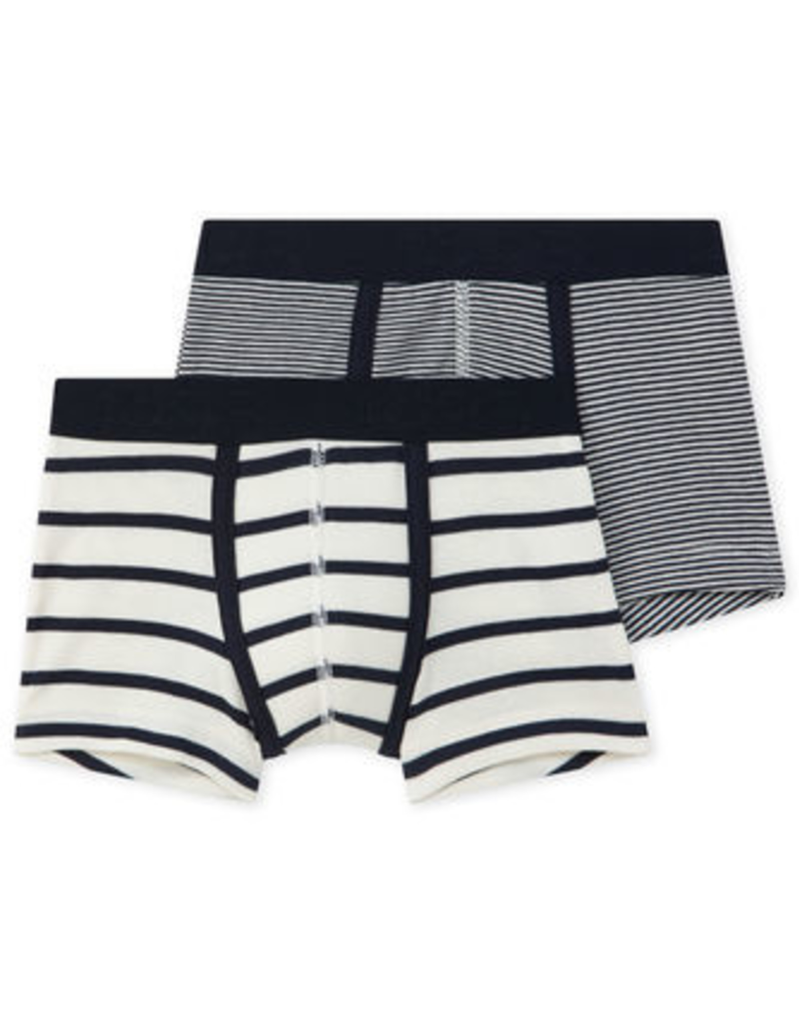 Petit Bateau Set of 2 striped boxers