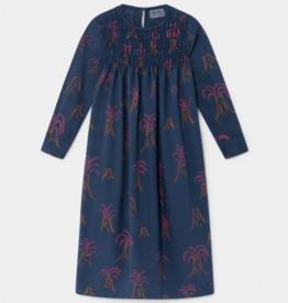 All Over Volcano Flounce Dress