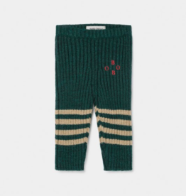 Bobo Knee Stripes Knitted Leggings