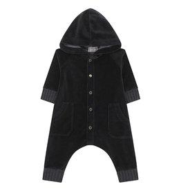 Argos Velvet Hooded Jumpsuit