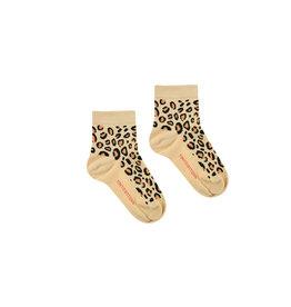 Chaussettes à motif léopard