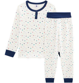 Pyjama deux pièces, imprimé lettres