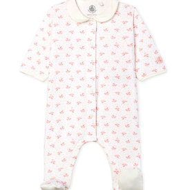 Baby Girls' Tube Knit Sleepsuit