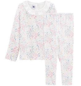 Pyjama deux pièces, imprimé à fleurs