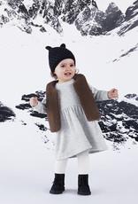 Petit Bateau Baby Fleece-Lined Bonnet