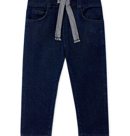 Babies' Denim Look Knit Trousers