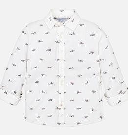Shirt, planes print