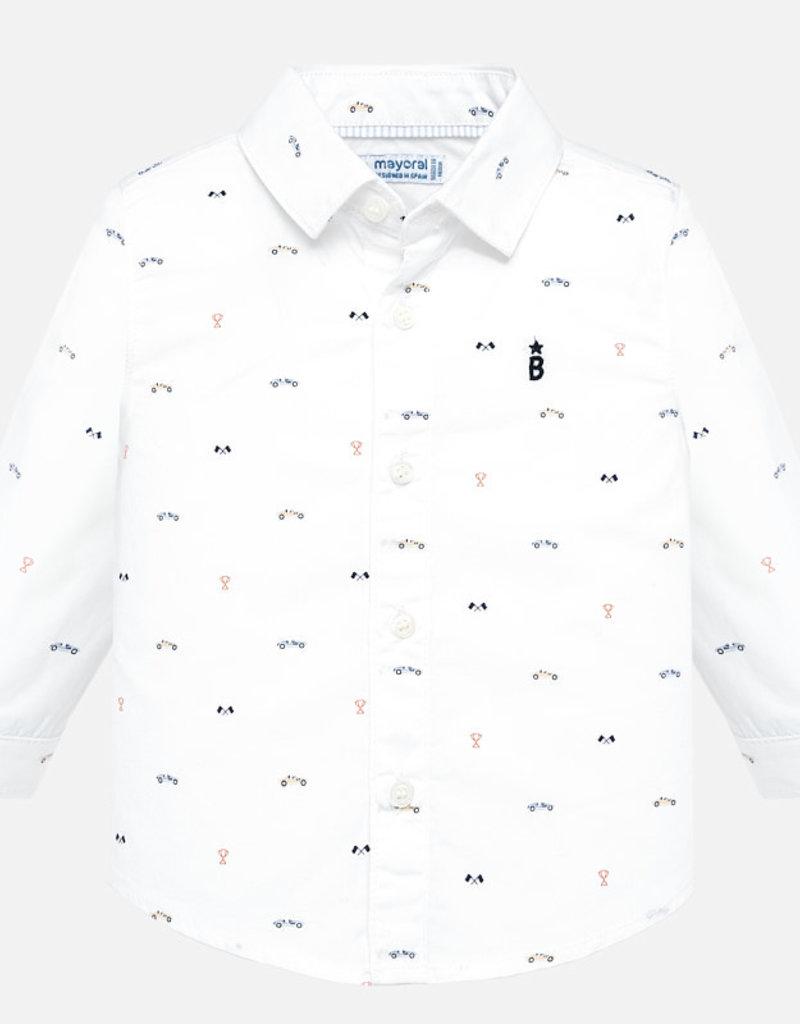 Shirt, cars print
