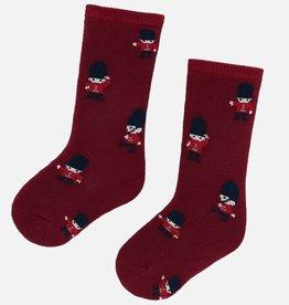 Chaussettes, imprimé soldats - Noël