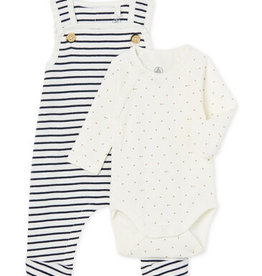 Baby' Ribbed Clothing - 2-piece set