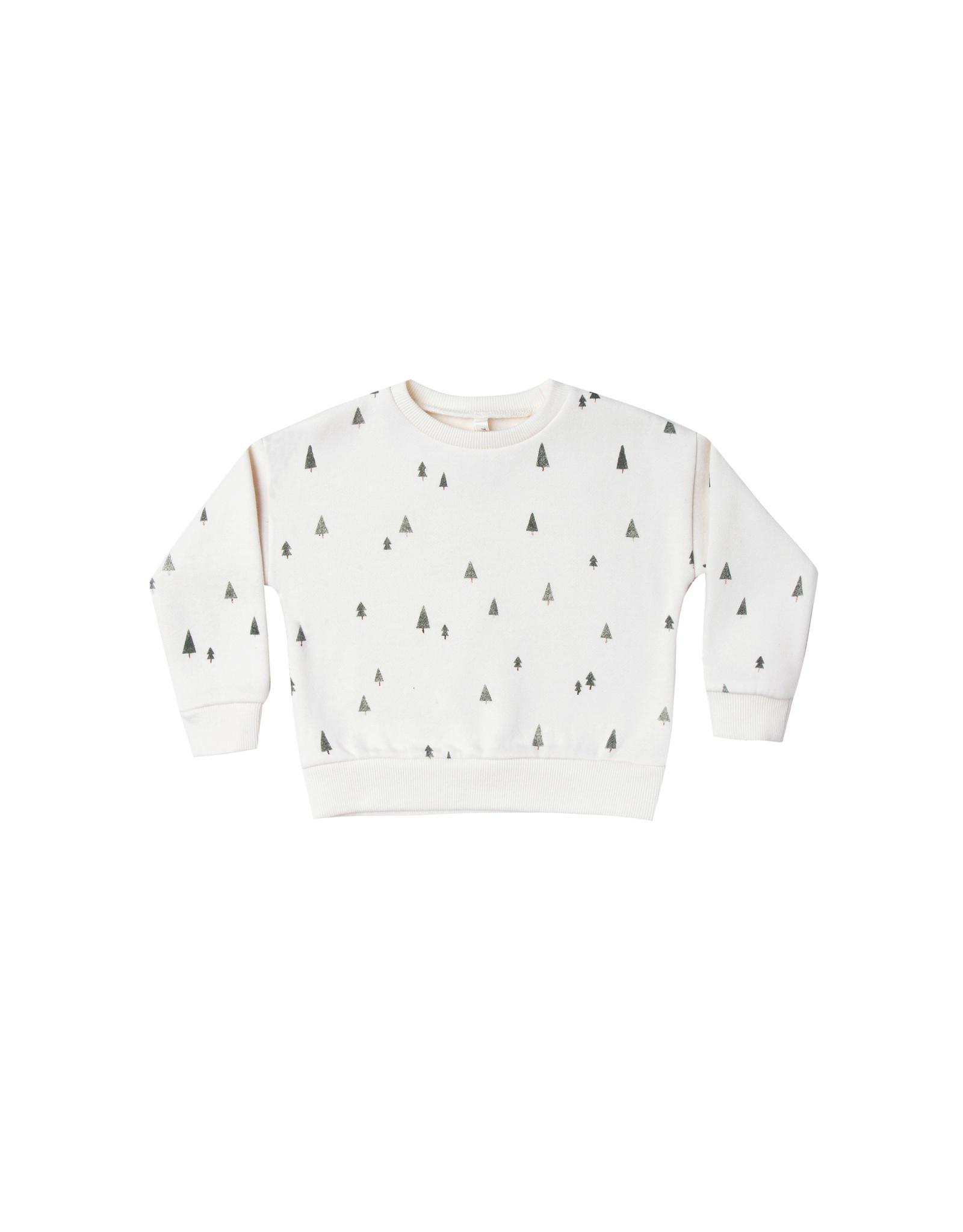 Sweatshirt, tree print