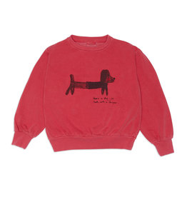 Weekend House Kids Green dog  sweatshirt