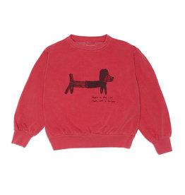 Weekend House Kids Green dog  sweatshirt