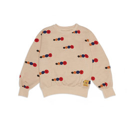 Weekend House Kids Sweatshirt, caterpillar print