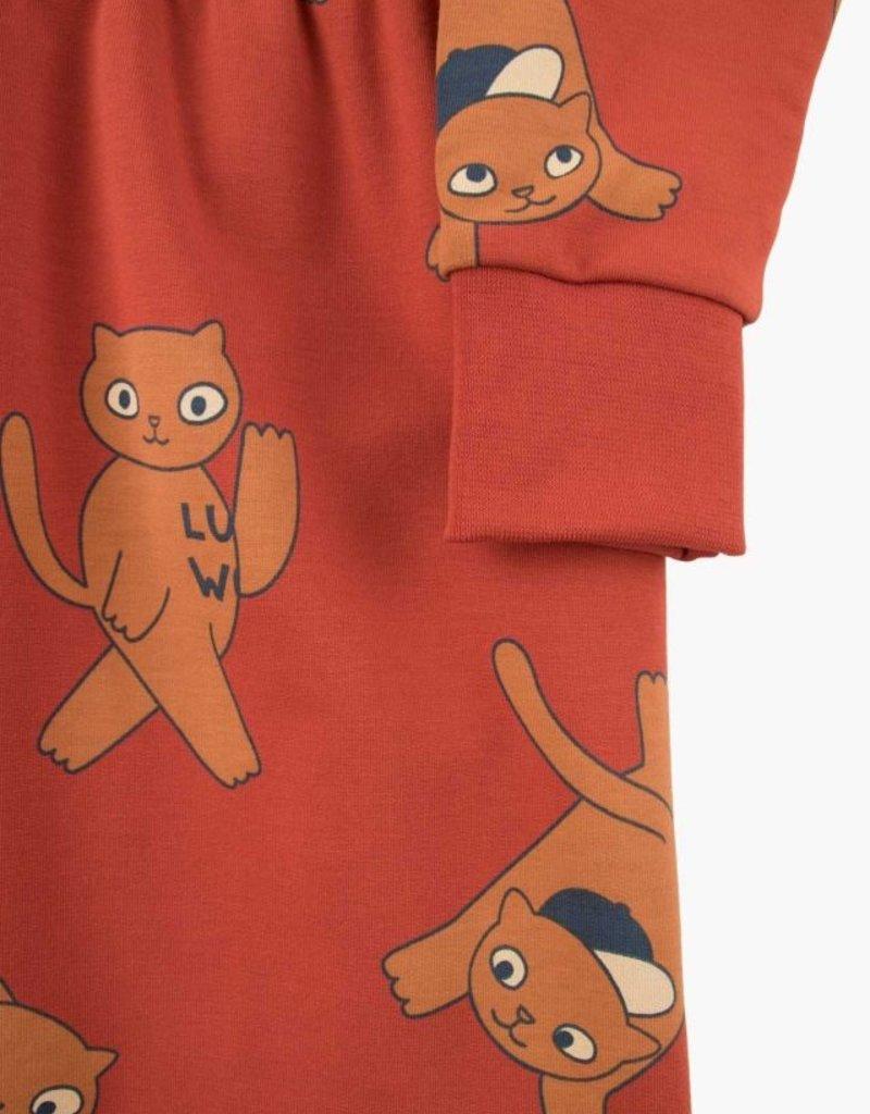 """Cats"" dress"