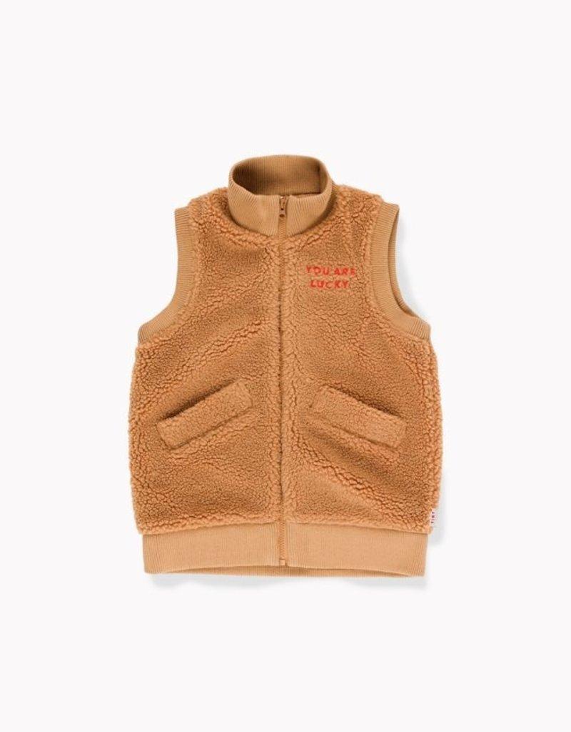 Sherpa long vest