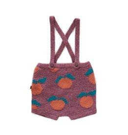 Clementine suspender shorts
