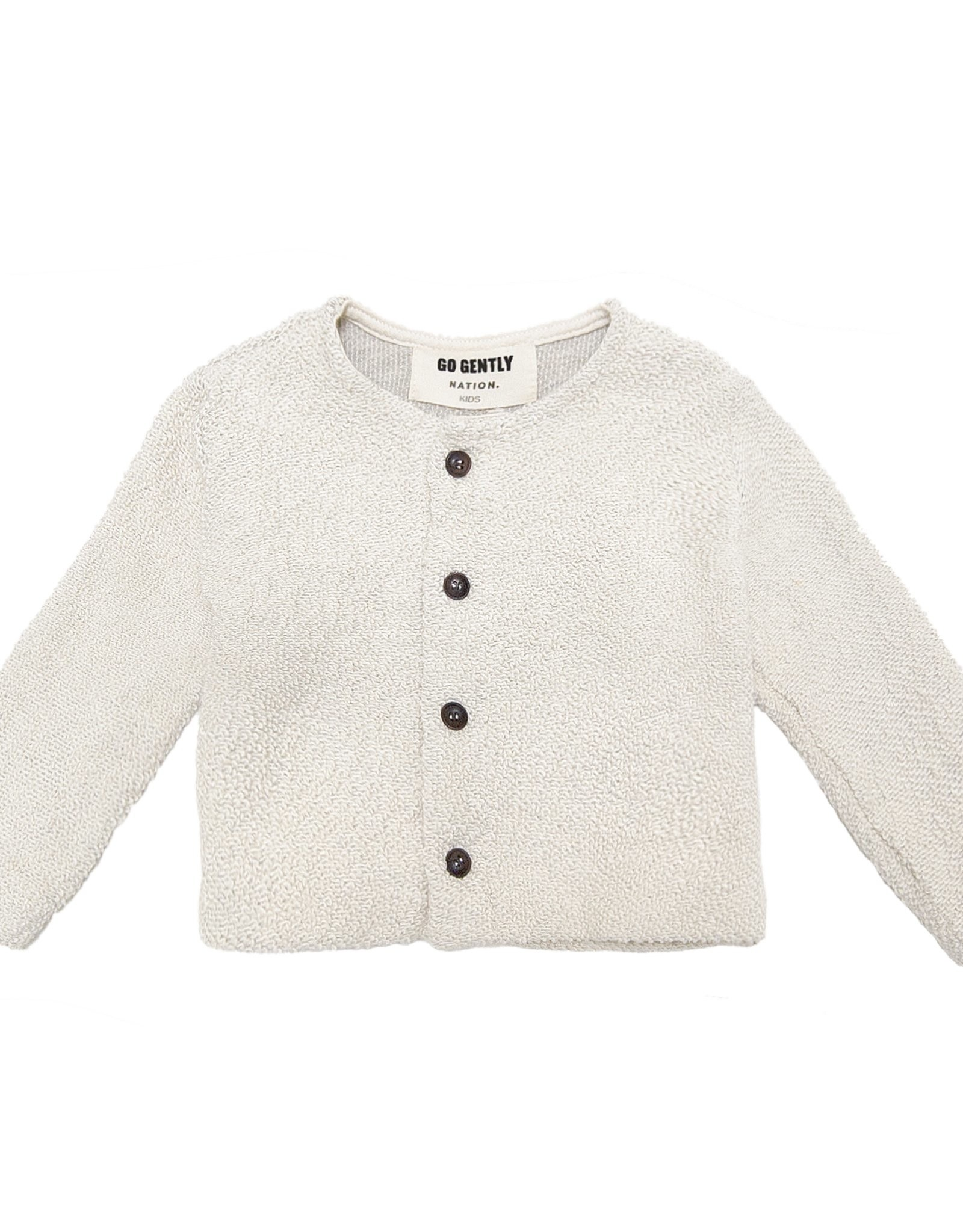 Go Gently Nation Textured knit coat