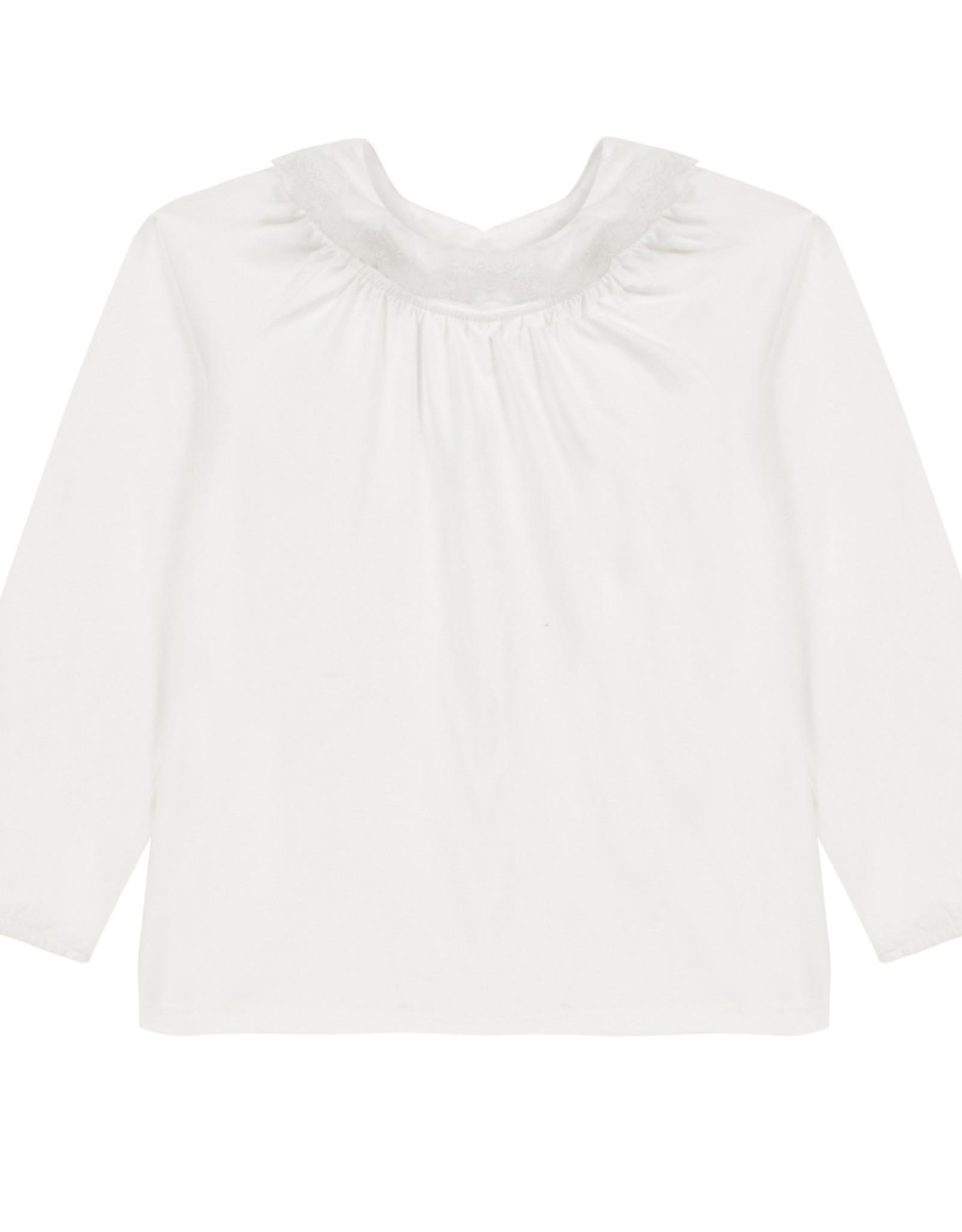 Tartine et Chocolat T-shirt with ruffled collar