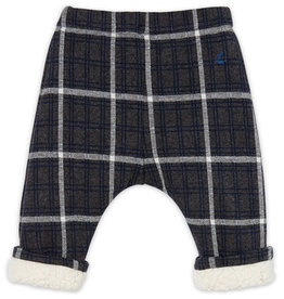 Checked Sherpa Lined Trousers