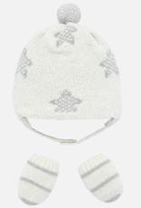 Ensemble moufles et bonnet pour bébé