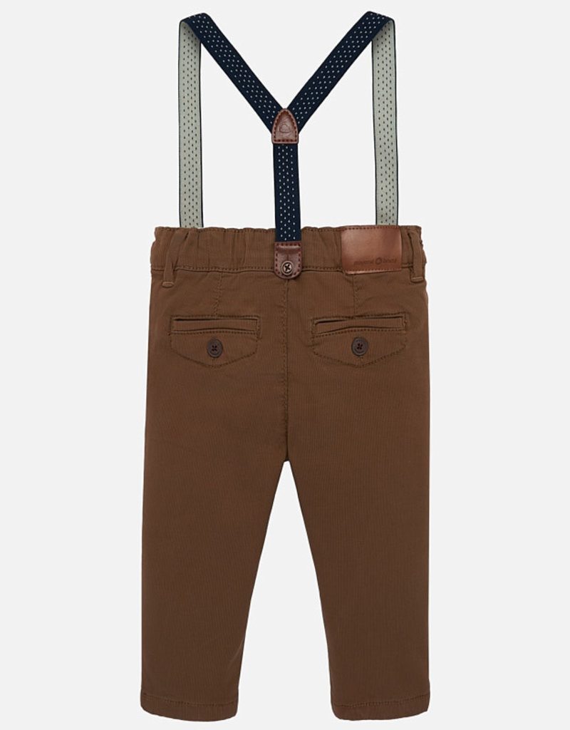 Pant with suspenders
