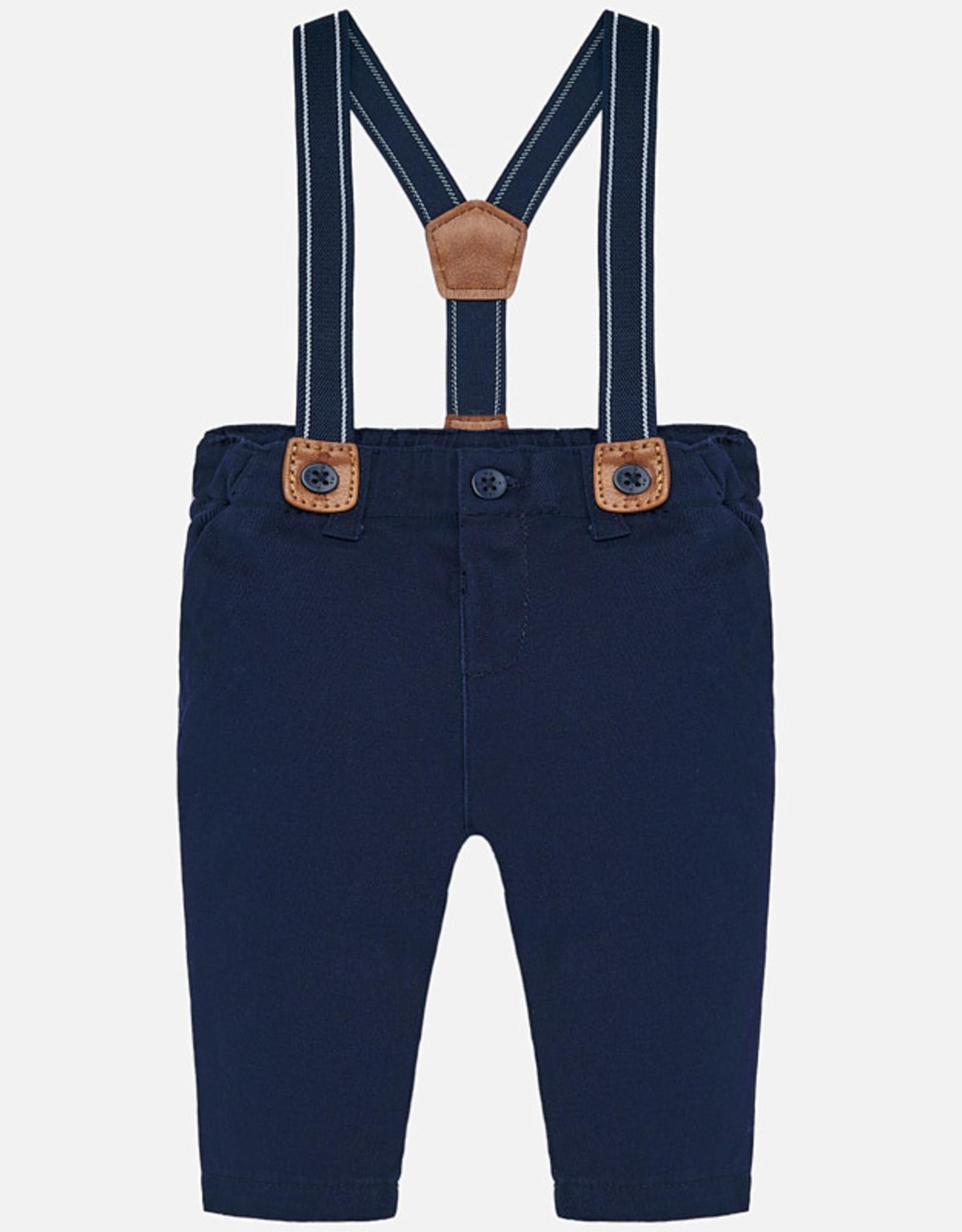 Pantalon avec bretelles