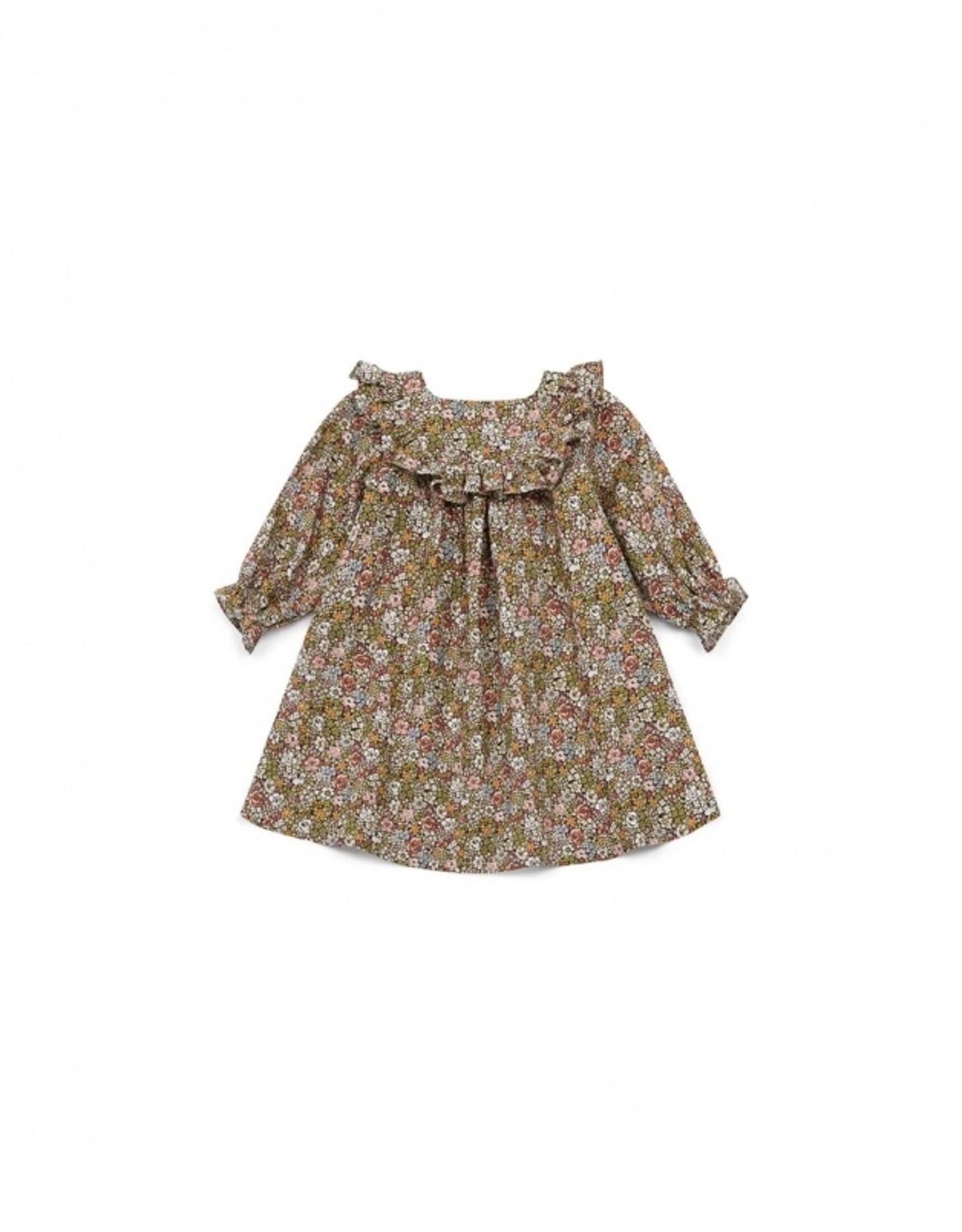 Rose baby dress