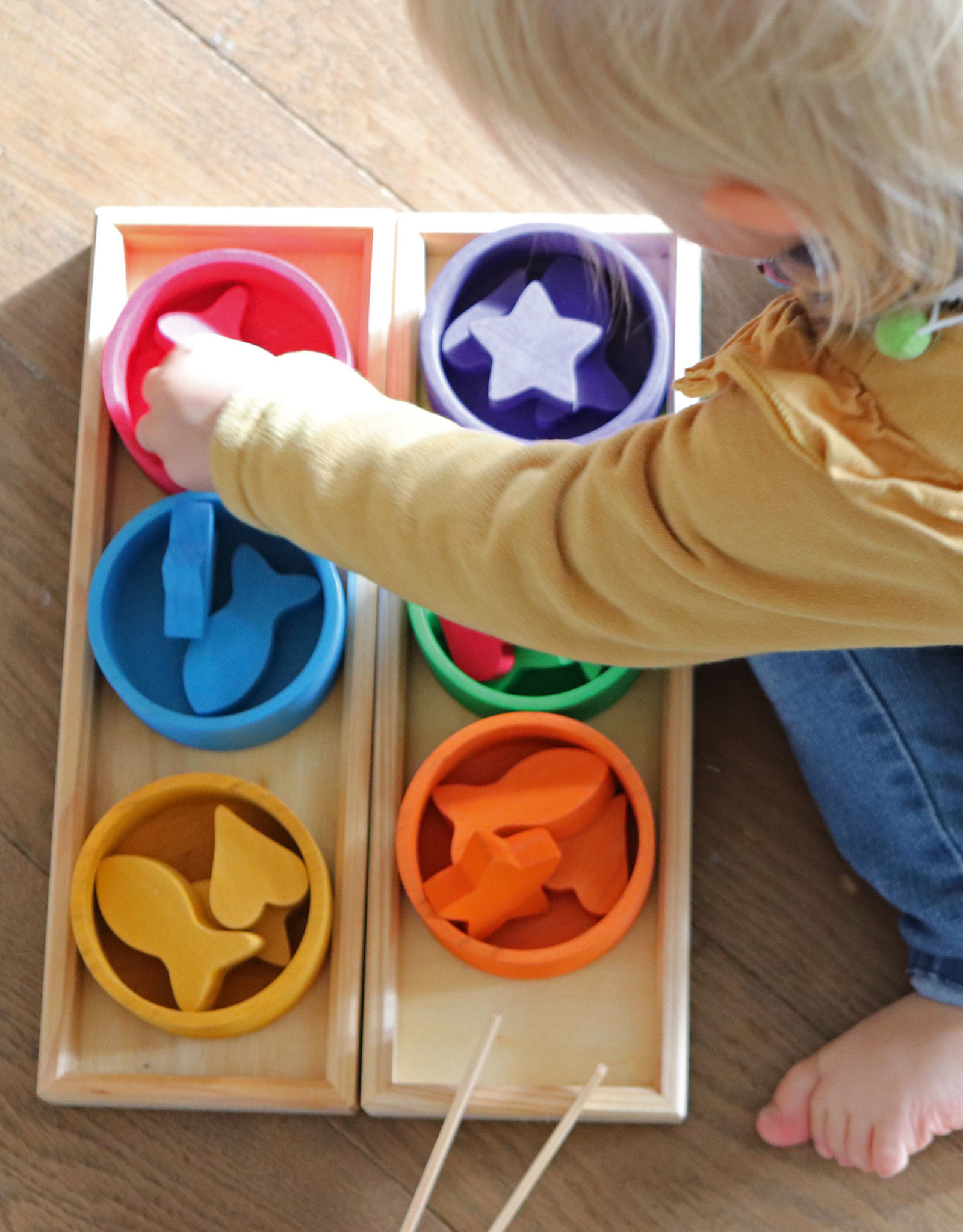 Grimm's Rainbow Bowls Sorting Game