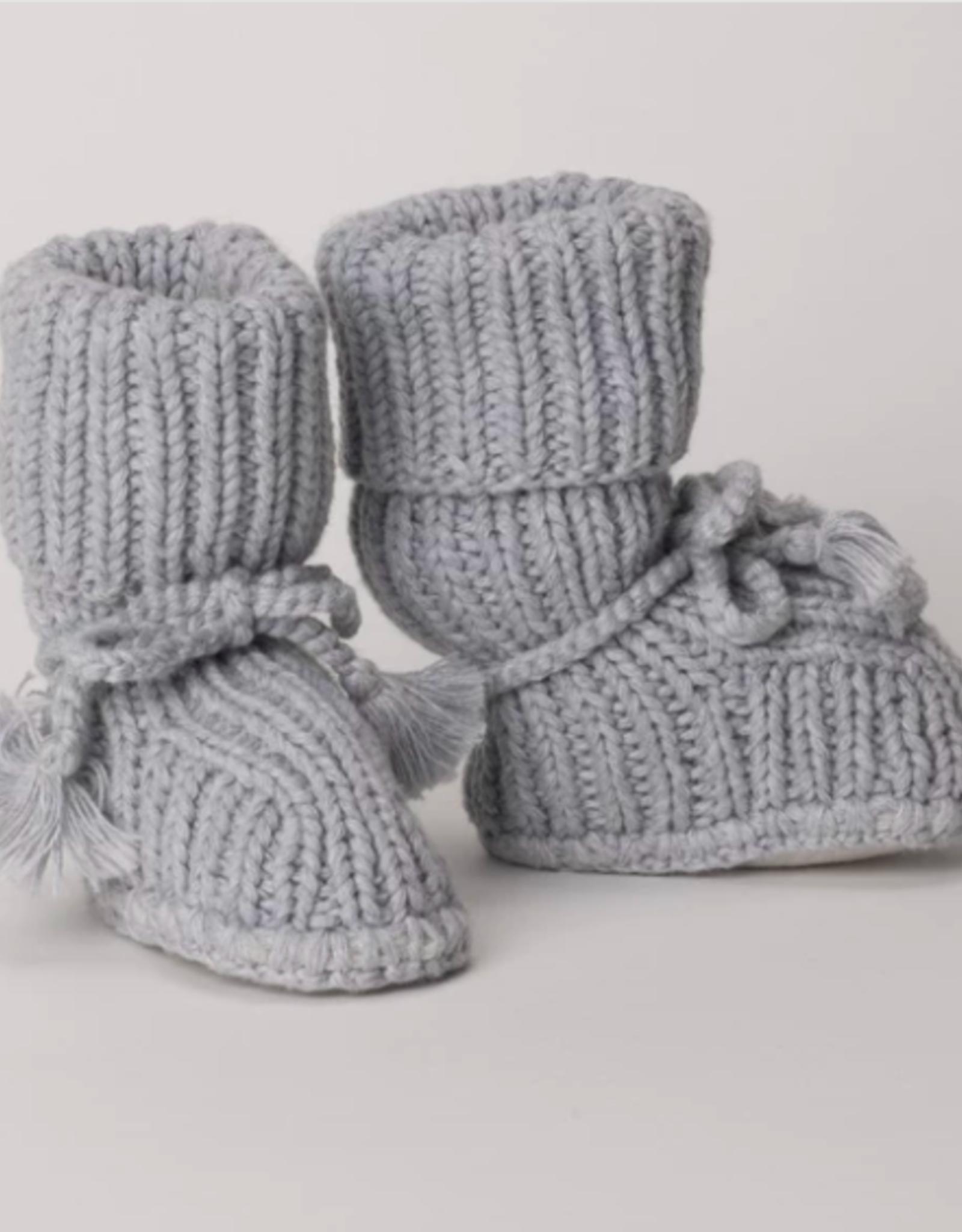 Tane Organics Sock Booties with Ties