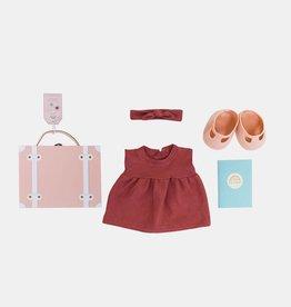 Olli Ella Valise avec vêtements pour poupée Dinkum