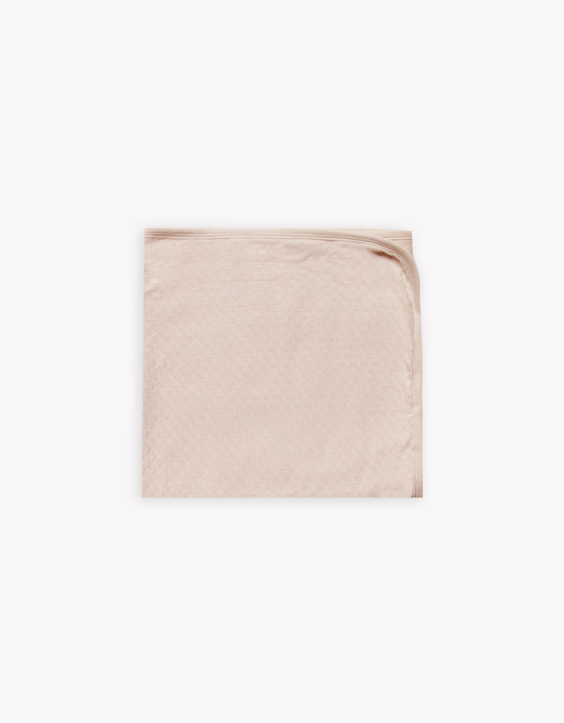 Quincy Mae Pointelle baby blanket